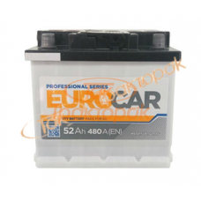 Аккумуляторная батарея 6ст 52 А.З.Г. Eurocar (12V, 480А)
